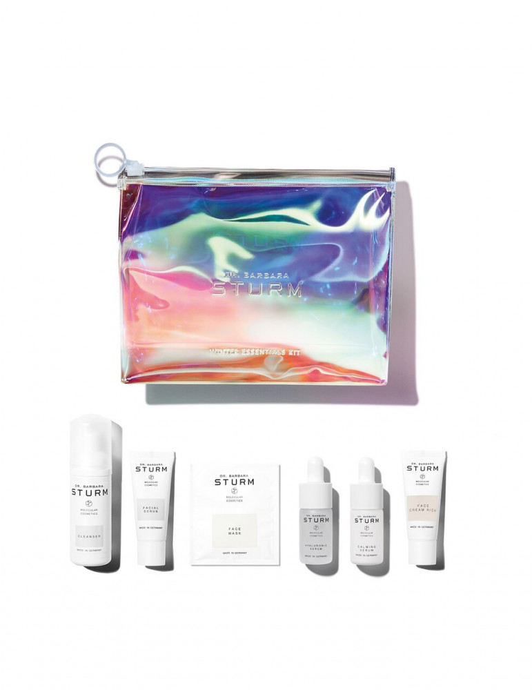 A set of skin care for the face in the cold season `Dr. Barbara Sturm` WINTER ESSENTIALS KIT